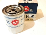 63-73 PONTIAC V8 PF24 OIL FILTER NOS