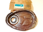 55-67 CHEVY SB V8 TIMING CHAIN COVER NOS