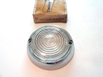 60-66 CHEVY TRUCK BACKUP LAMP BEZEL & LENS NOS