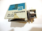 65-75 GM WINDOW SWITCH NOS