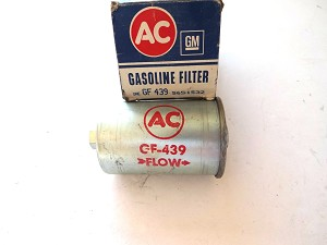 68 CADILLAC GF-439 GAS FUEL FILTER NOS