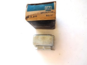 61-69 GM BLOWER AC RELAY SWITCH NOS