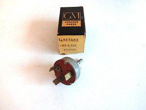 1956 OLDSMOBILE HEATER BLOWER MOTOR SWITCH NOS