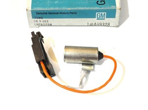 78-81 BUICK REGAL RADIO CAPACITOR NOS