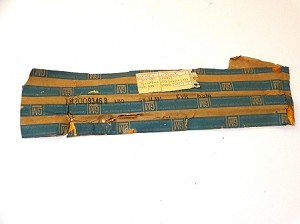 79 BUICK DOOR HANDLE PULL STRAP COVER PLATE NOS