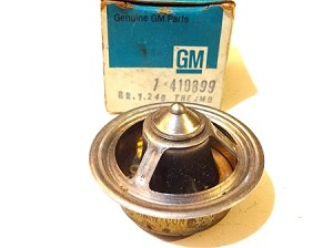75-81 GM 195 DEGREES THERMOSTAT NOS