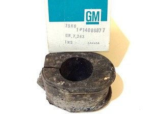 88-93 CADILLAC SWAY BAR BUSHING NOS