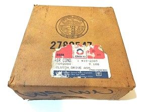 82-87 GM AC COMPRESSOR CLUTCH DRIVE NOS