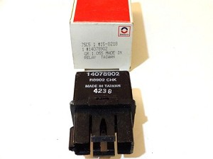 83-87 CAMARO & FIREBIRD V8 ENGINE FAN RELAY NOS