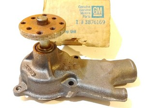 64-66 CHEVELLE WATER PUMP ASSEMBLY NOS