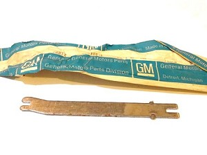 63-75 CHEVY TRUCK PARK BRAKE SHOE LEVER NOS