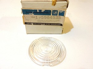 60-72 CHEVY TRUCK BACKUP LAMP LENSES NOS