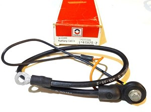 82-87 CAMARO V8 NEGATIVE BATTERY CABLE NOS
