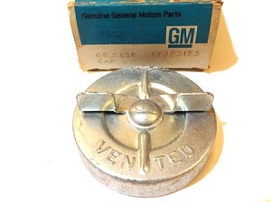 64-67 GM GAS / FUEL CAP NOS